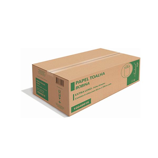 Papel toalla bobina EXTRA LUJO - INDAIAL