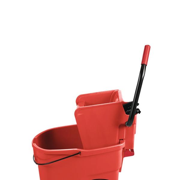 Trapeador Wave Brake prensa lateral 33Lts. Rojo