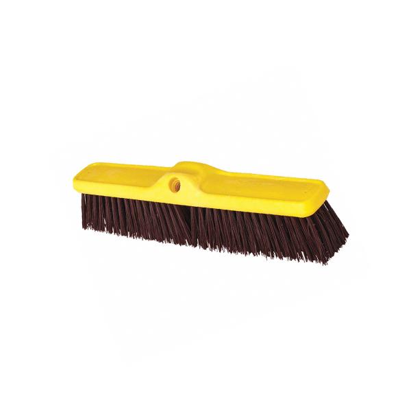 Cepillo doble rosca y cerdas duras 61 cm. Sin mango