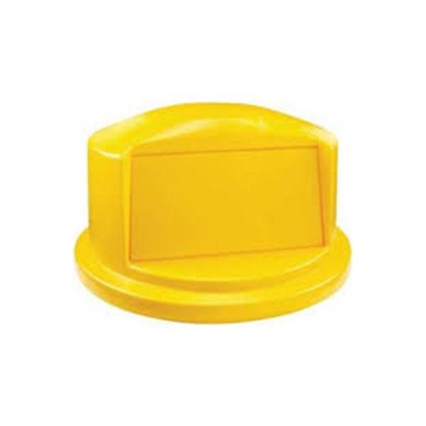 Tapa domo para contenedores BRUTE de 121 lts Amarillo