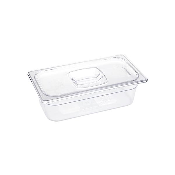 Tapa para recipiente Food pan GN 1/ 3 (32, 5 CM x 17,6 CM) sin ranura para cucharas