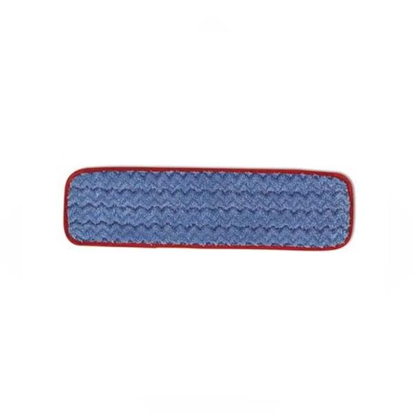 Mopa húmeda de microfibra 45cm para trapeador PULSE LIGHT. Borde Rojo
