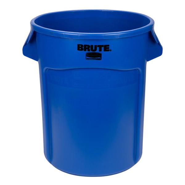 Contenedor BRUTE de 75 lts Azul