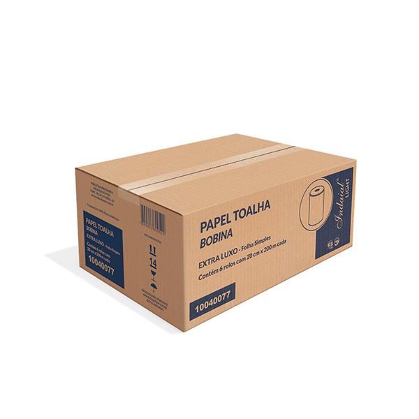 Papel higiénico calidad premium - INDAIAL -  500 MTS