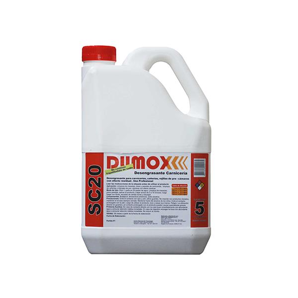 Desengrasante dumox SC20 x 5lts