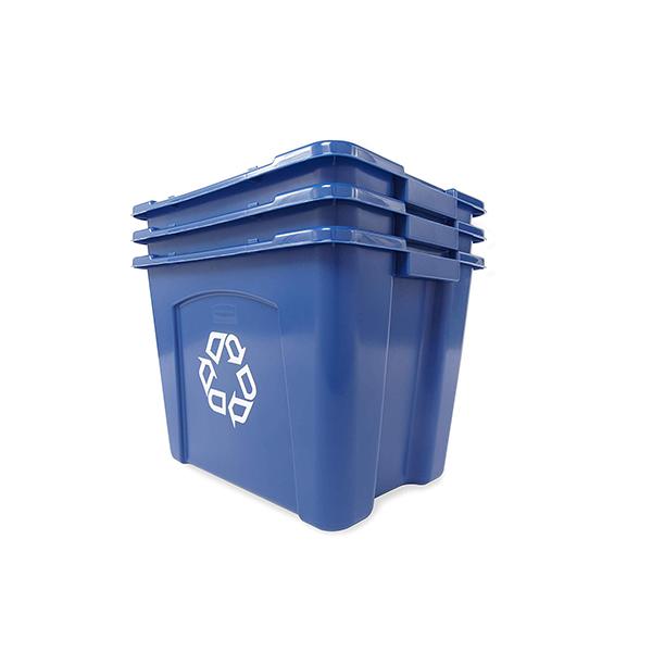 Caja para reciclaje apilable 53Lts-