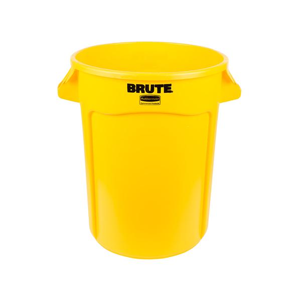 Contenedor BRUTE de 121 lts Amarillo