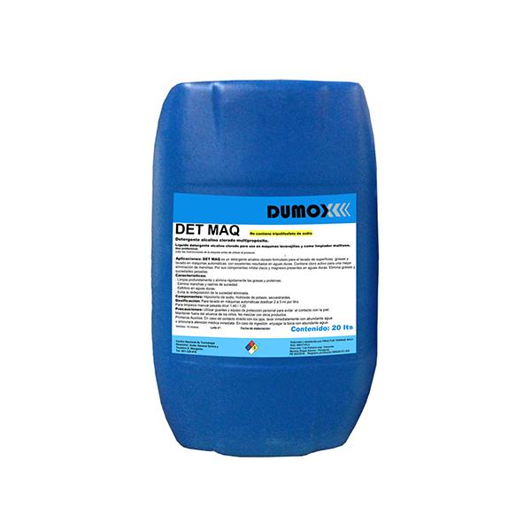 Detergente para máquinas Dumox DETMAQ x 20 lts