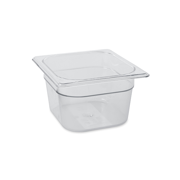 Recipiente Food pan 1,5 lts GN 1/ 6 (16 CM x 17.6 CM)