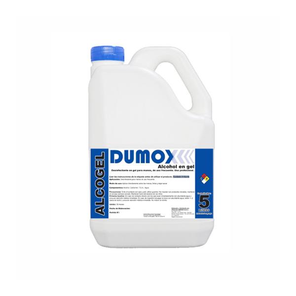 Dumox Alcogel x 5lts - Gel Bactericida