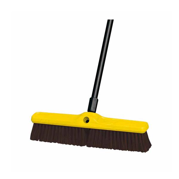 Cepillo doble rosca y cerdas duras 45 cm. Sin mango