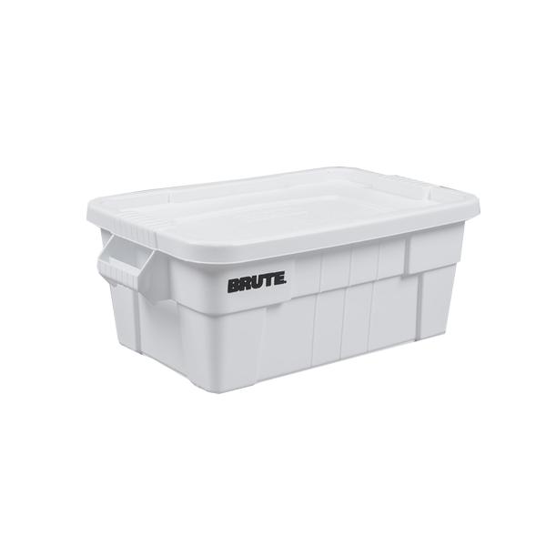 Caja BRUTE de 53 litros, color blanco