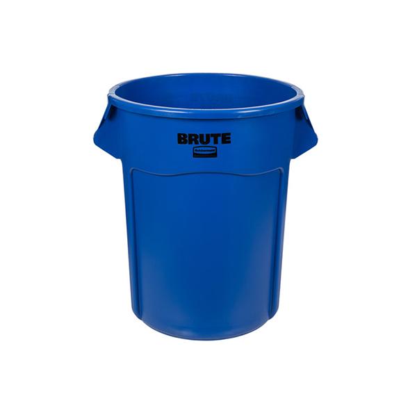 Contenedor BRUTE de 37 lts Azul