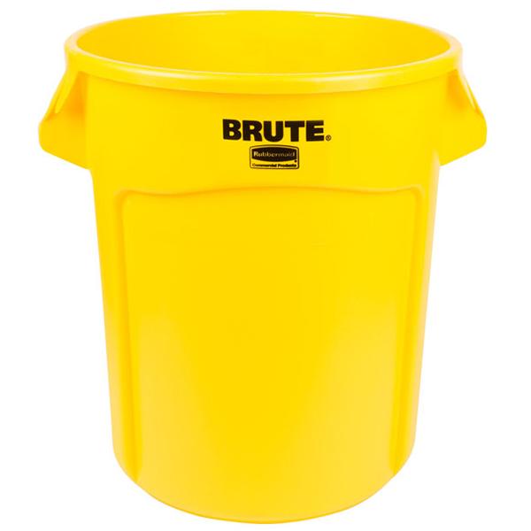 Contenedor BRUTE de 75 lts Amarillo