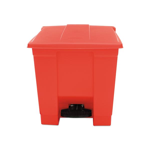 Contenedor de pedal 30,1Lts Rojo