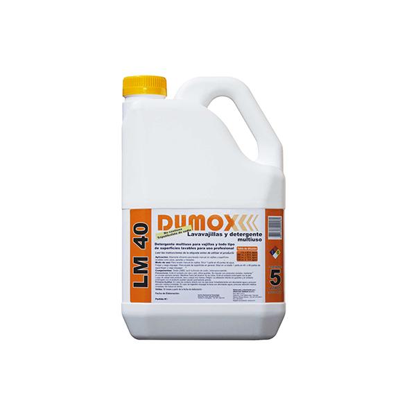 Detergente concentrado Dumox  LM40 x 5lts