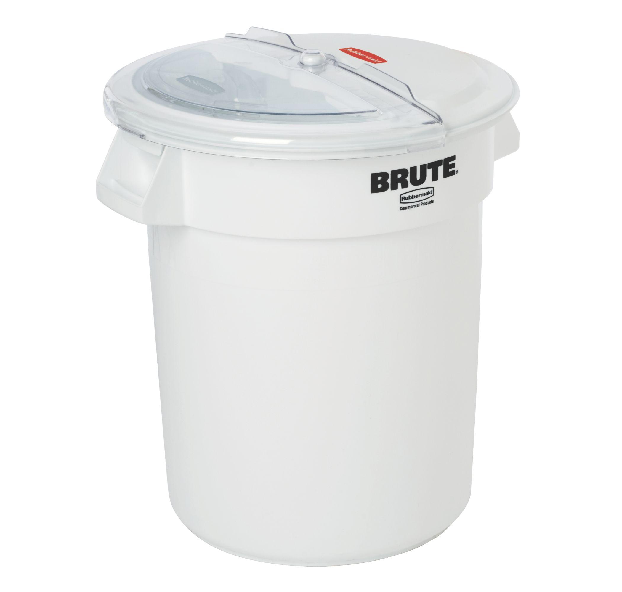 Contenedor Brute 121 litros + Tapa deslizante y cuchara dosificadora.
