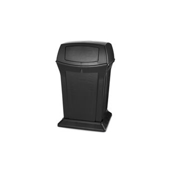 Contenedor decorativo Ranger c/2 Puertas. Negro
