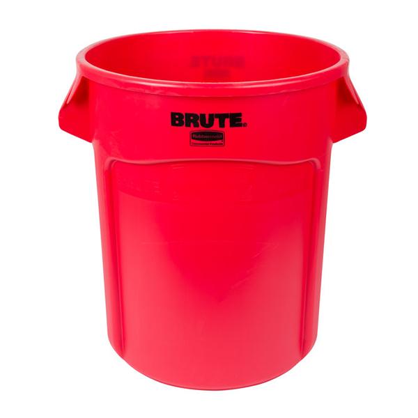Contenedor BRUTE de 75 lts Rojo