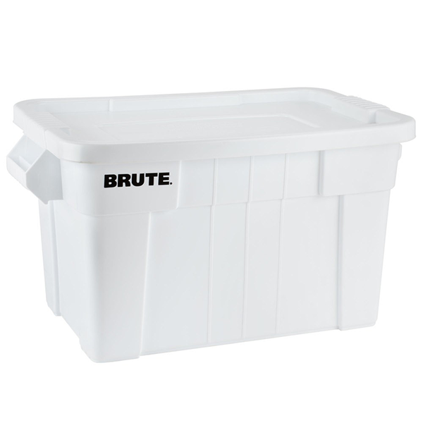 Caja BRUTE de 75 litros, color Blanco