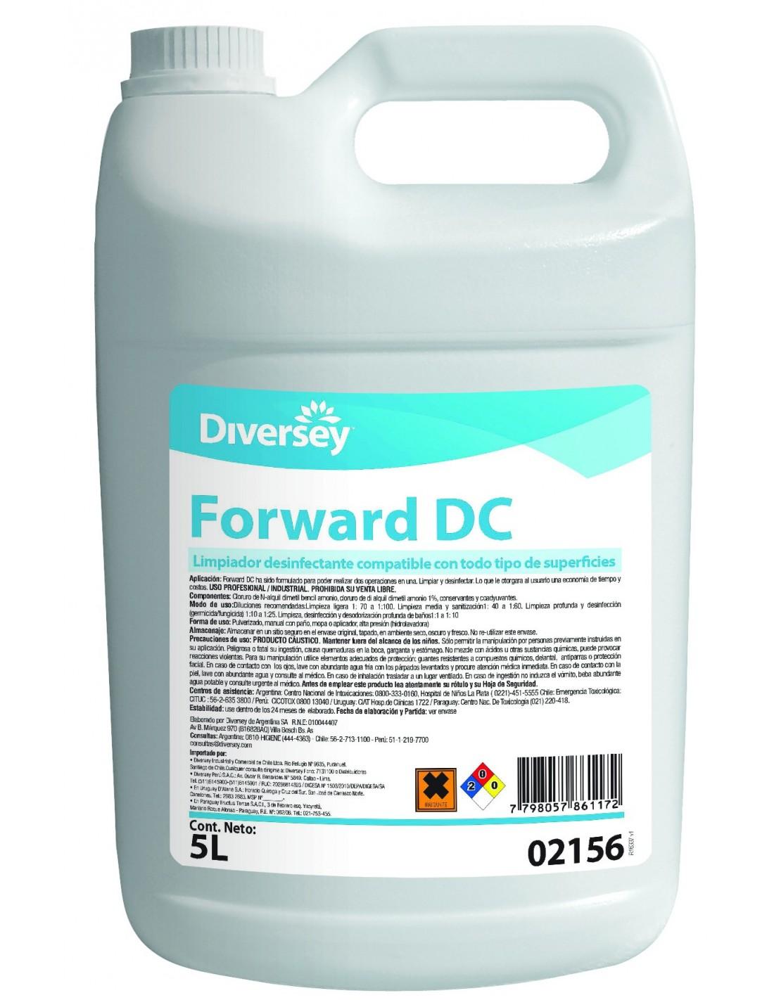 Forward Limpiador Desinfectante 5 litros