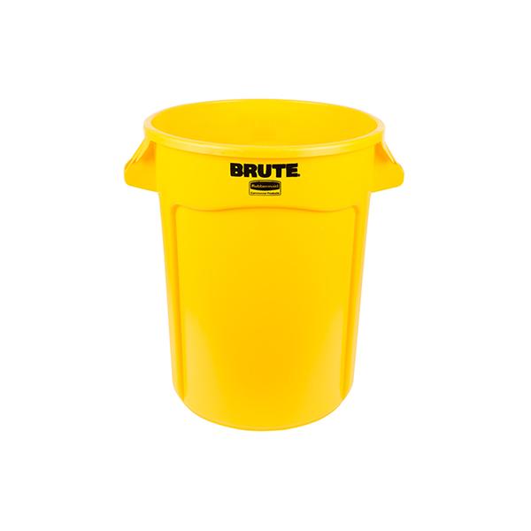 Contenedor BRUTE de 37 lts Amarillo