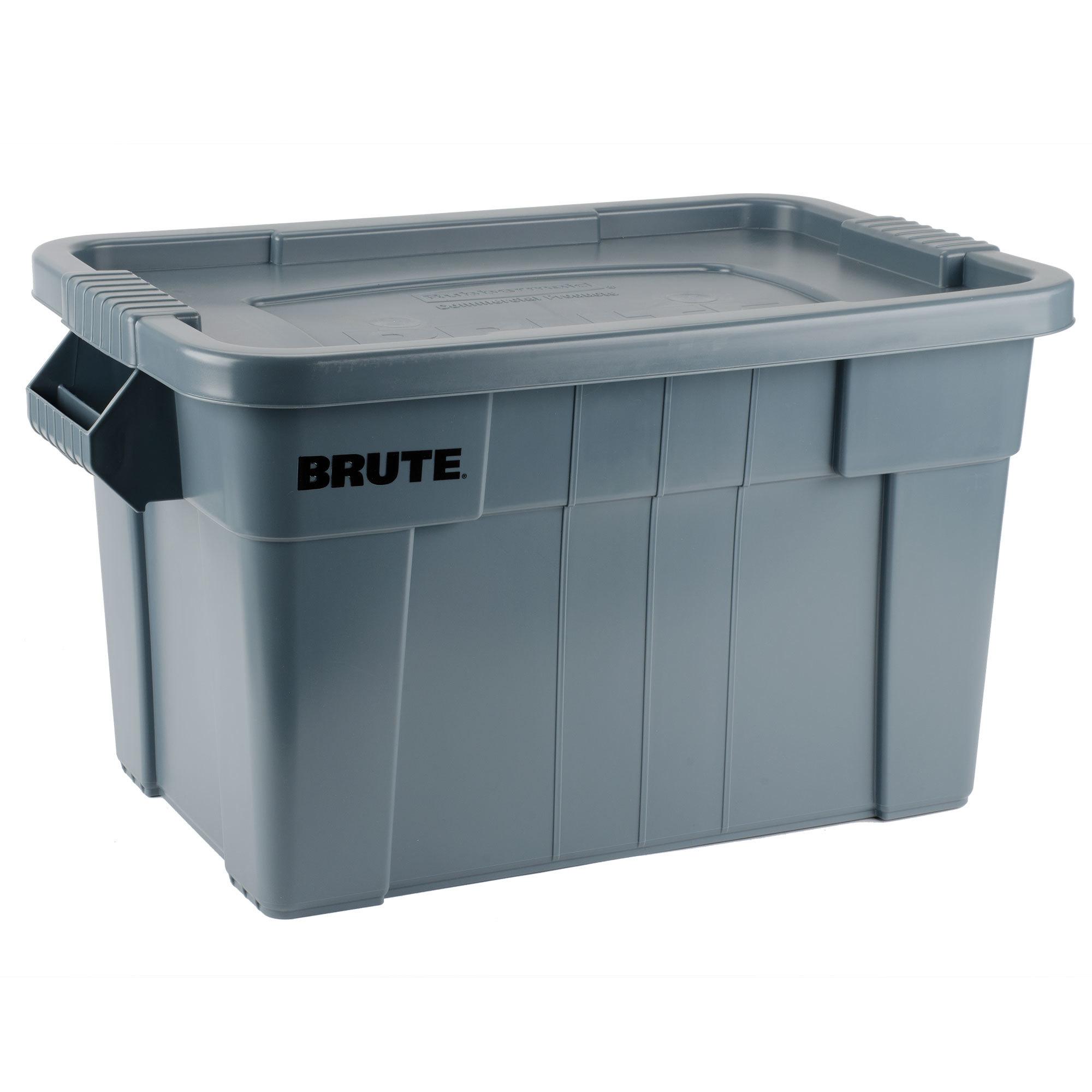 Caja BRUTE de 75 litros color Gris
