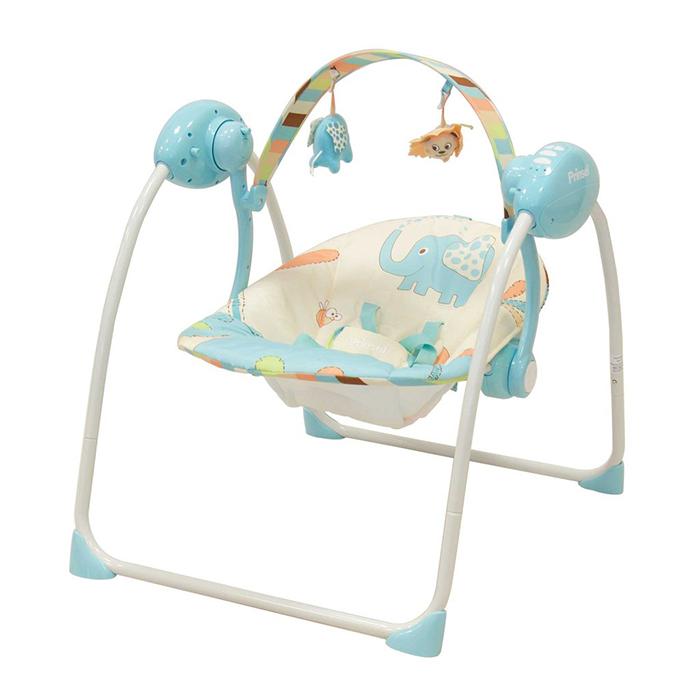 57e17b8c0 Columpio Mimo con diseño de Elefantes - Azul - Ambiental S.A -