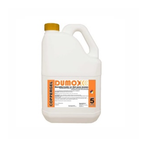 Dumox Copper Gel x 5lts - Gel Bactericida