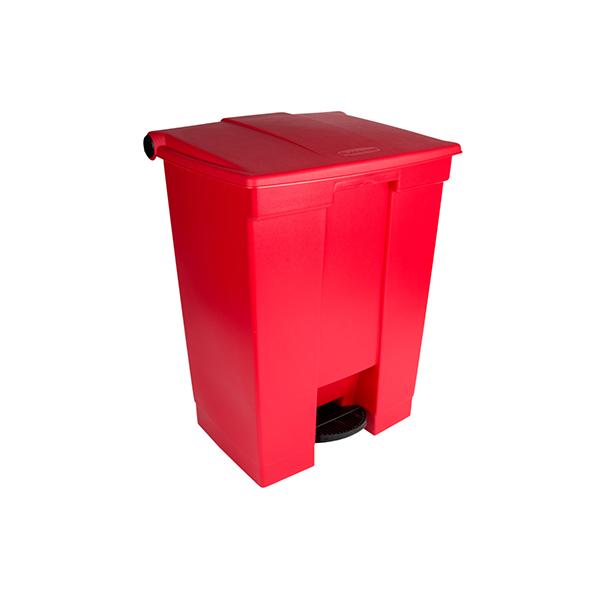 Contenedor de pedal 68Lts Rojo