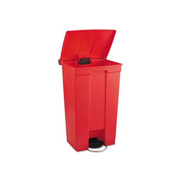 Contenedor de pedal 87Lts Rojo