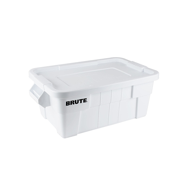 Caja BRUTE 53 litros, color blanco