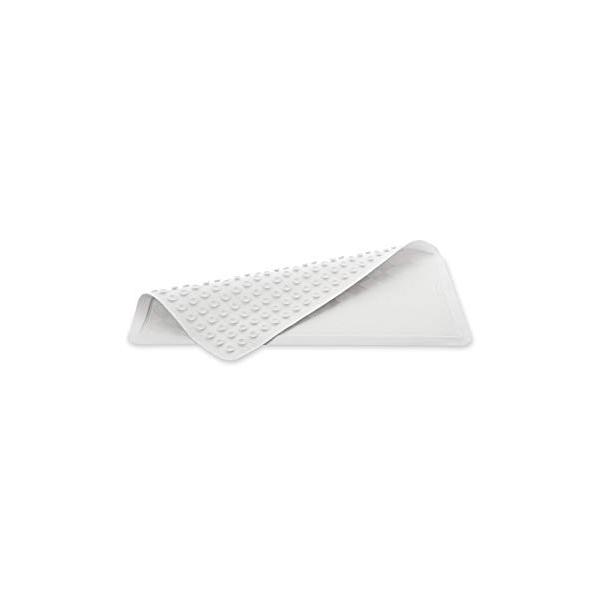 Tapete Safti-grip extra grande, blanco