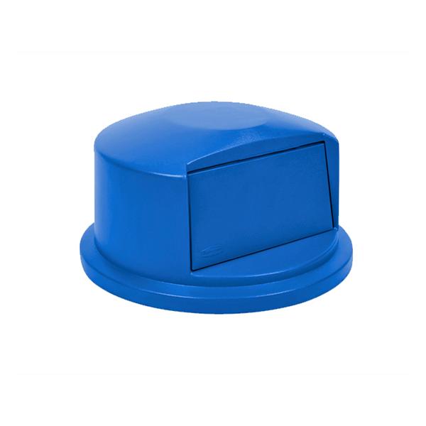 Tapa domo para contenedores BRUTE de 121 lts. Azul