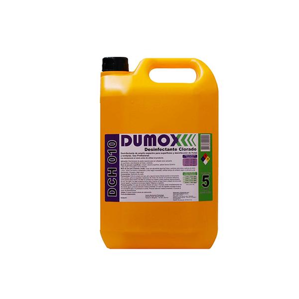 Sanitizante Dumox DCH010 clorado x 5lts