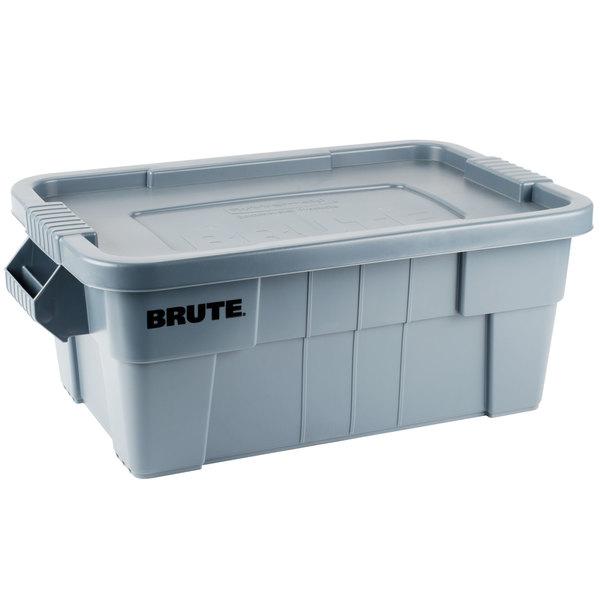 Caja BRUTE de 53 litros, color gris
