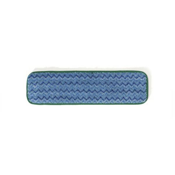 Mopa húmeda de microfibra 45cm para trapeador PULSE LIGHT. Borde Verde